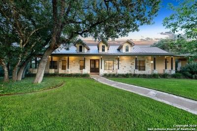 San Antonio Single Family Home New: 25051 Toutant Beauregard Rd