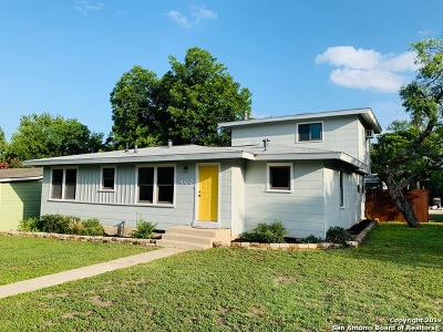 San Antonio Single Family Home New: 402 Blakeley Dr