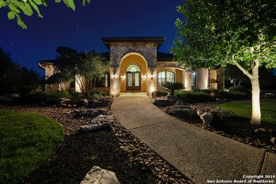 Boerne Single Family Home New: 108 Cornerstone