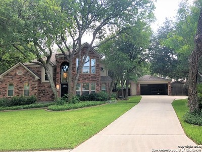 Schertz Single Family Home New: 2431 Cove Hill