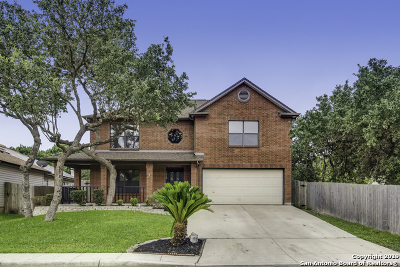 Helotes Single Family Home For Sale: 9610 Brooks Sta