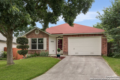 San Antonio Single Family Home New: 6806 Honeyridge Ln