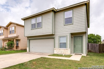 San Antonio Single Family Home Active Option: 10019 Amber Breeze