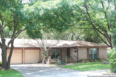 San Antonio Single Family Home New: 6823 Forest Crest St