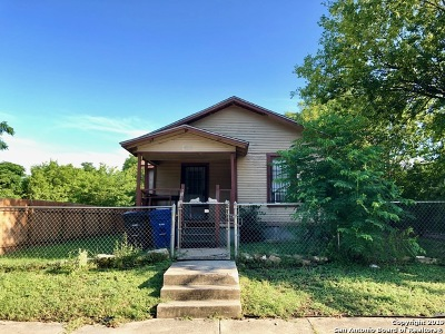 San Antonio Single Family Home New: 1404 Lamar