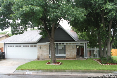 Single Family Home New: 10341 Country Bluff