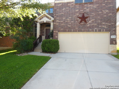 Bexar County Rental New: 26118 Raven Feather