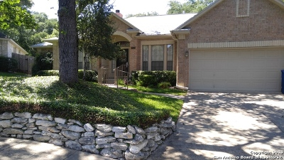 San Antonio Single Family Home New: 8823 Braun Valley
