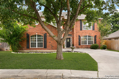 San Antonio Single Family Home New: 2719 Montebello