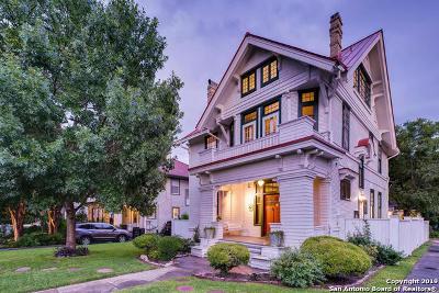 Bexar County Single Family Home New: 134 W Mistletoe Ave