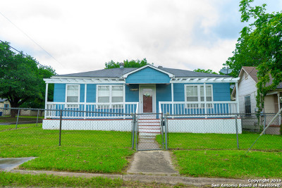 San Antonio Single Family Home New: 103 Cosgrove St