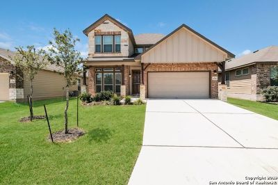 San Antonio Single Family Home New: 13310 Frio Parke