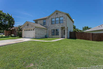 San Antonio Single Family Home New: 9807 Jenson Pt