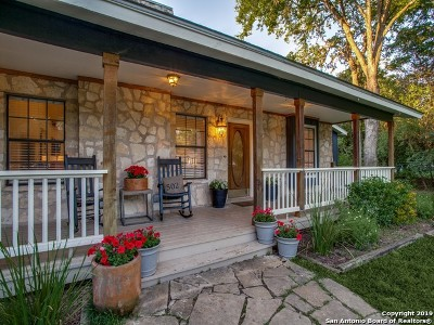 Boerne Single Family Home For Sale: 502 Hickman St