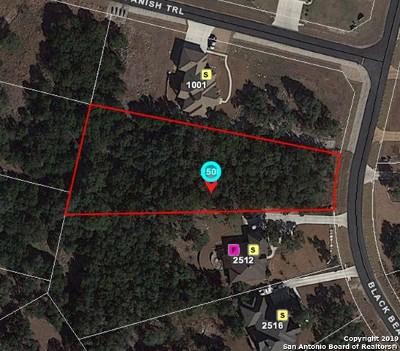 New Braunfels Residential Lots & Land New: 2508 Black Bear Dr