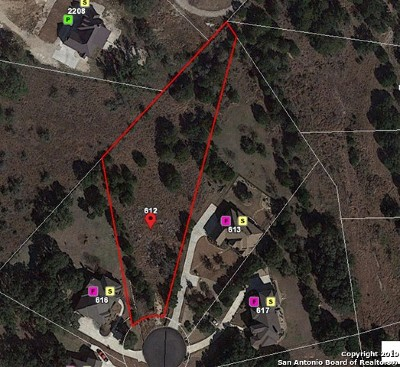 New Braunfels Residential Lots & Land New: 612 Haven Point Loop
