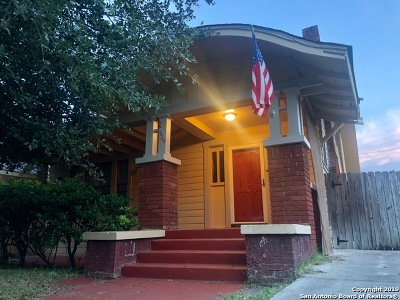 San Antonio Single Family Home New: 326 E Craig Pl