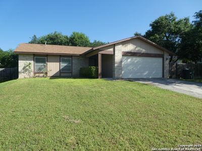 San Antonio Single Family Home New: 1015 Lafferty Oaks