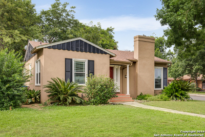 San Antonio Single Family Home New: 240 W Ridgewood Ct