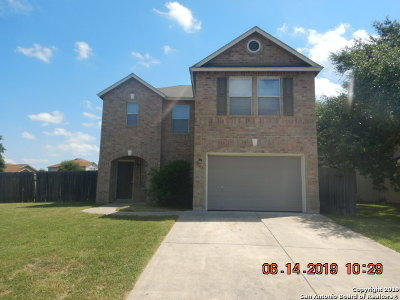 Converse Single Family Home New: 8603 Sierra Springs