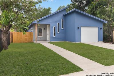Single Family Home For Sale: 840 Potomac