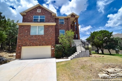 San Antonio Single Family Home New: 23459 Seven Winds