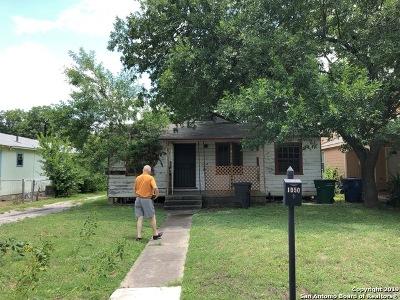 San Antonio Single Family Home Active Option: 1050 Alexander Hamilton Dr