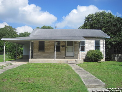 Schertz Single Family Home Active Option: 605 Exchange Ave