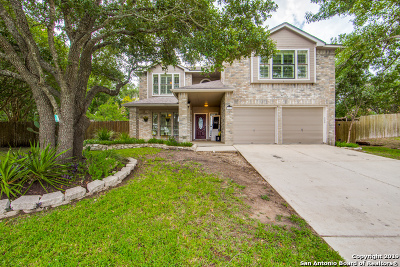 Stone Oak Single Family Home For Sale: 25006 Silverstone