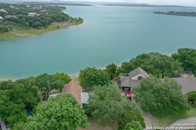 Canyon Lake Single Family Home Active Option: 648 Rimrock Pass