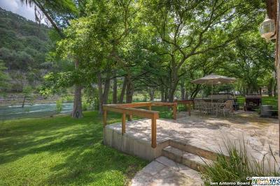 New Braunfels Single Family Home Price Change: 8722 River Rd
