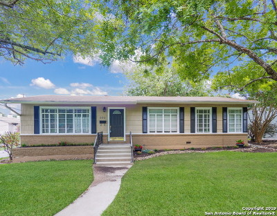 Terrell Hills Single Family Home Active Option: 101 Zambrano Rd