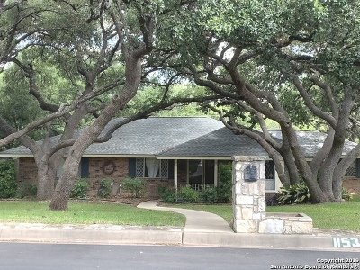 Bexar County Single Family Home Back on Market: 11531 Raindrop Dr