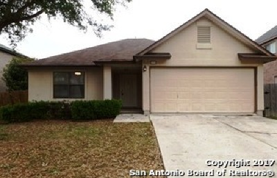 Converse Single Family Home For Sale: 8230 Cantura Mills