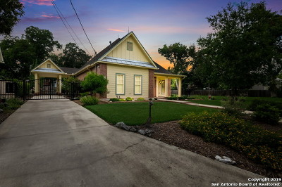 New Braunfels Single Family Home Price Change: 746 W Mill St
