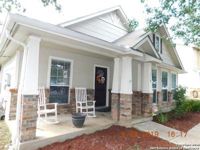 Cibolo Single Family Home Price Change: 216 Rustic Trail