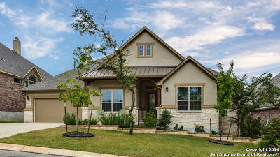 Boerne Single Family Home For Sale: 8826 Shady Gate