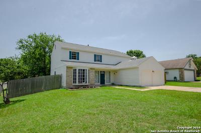 Converse Single Family Home Active Option: 8034 Deadwood Ridge