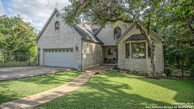New Braunfels Single Family Home Price Change: 640 Bluffside Dr