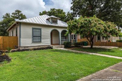 San Antonio Single Family Home Back on Market: 1011 Dawson St