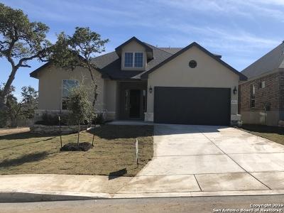 Boerne Single Family Home Price Change: 8214 Peony Landing