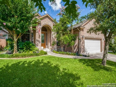 Stone Oak Single Family Home Active Option: 21510 Pearl Spring