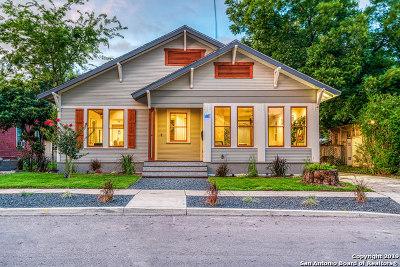 San Antonio Single Family Home For Sale: 437 Devine St