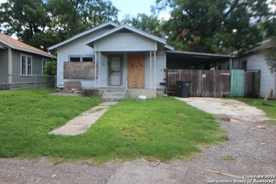San Antonio TX Single Family Home Back on Market: $98,450