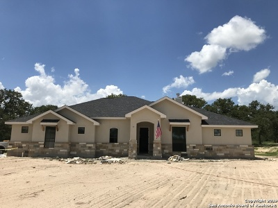 La Vernia Single Family Home Active Option: 129 Sendera Crossing