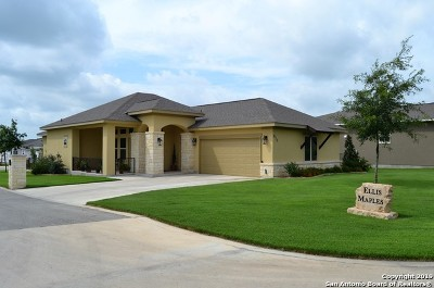 New Braunfels Single Family Home For Sale: 875 Long Creek Blvd