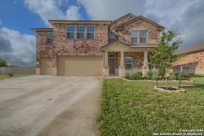 Cibolo Single Family Home Active Option: 105 White Rock