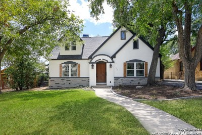Olmos Park TX Single Family Home Price Change: $900,000