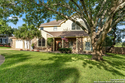 Stone Oak Single Family Home Price Change: 17910 Winter Hill