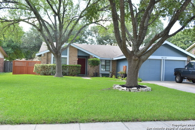 San Antonio TX Single Family Home For Sale: $212,000